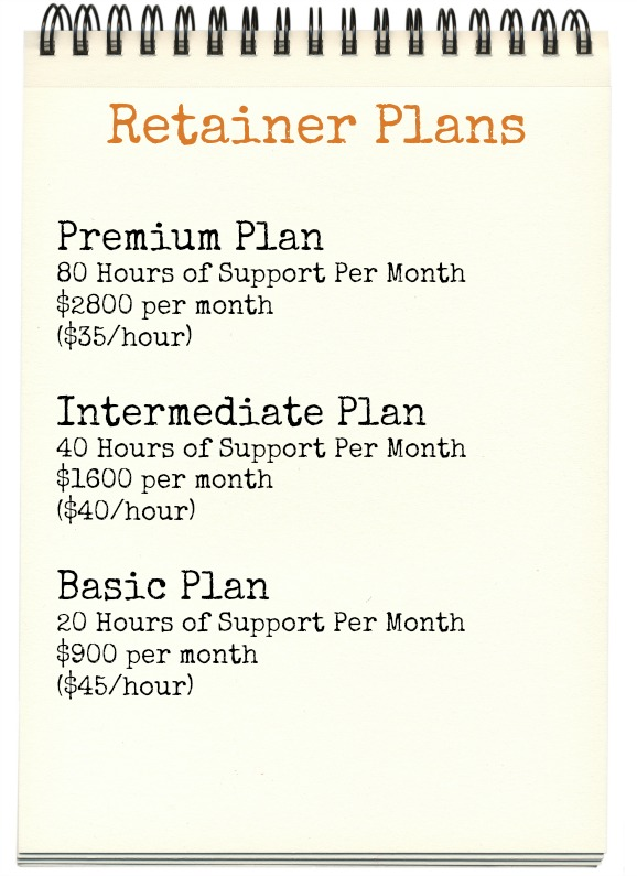 Retainer Plans January 2014
